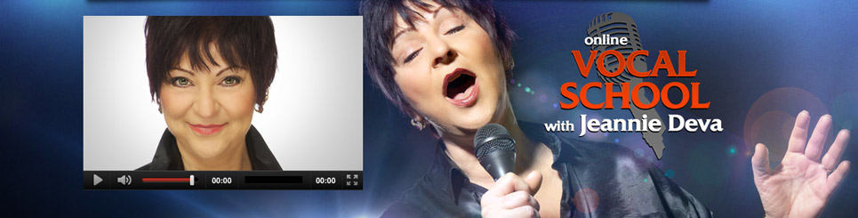 Check out free online singing lessons from Jeannie Deva