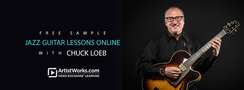 free sample jazz guitar lessons with chuck loeb. Black Bedroom Furniture Sets. Home Design Ideas