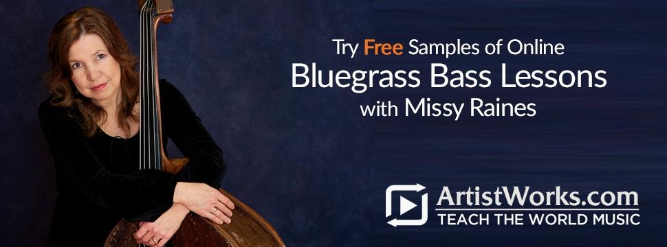 free online bluegrass bass lessons