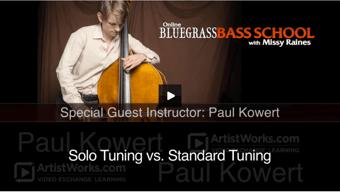 Solo vs Standard Tuning
