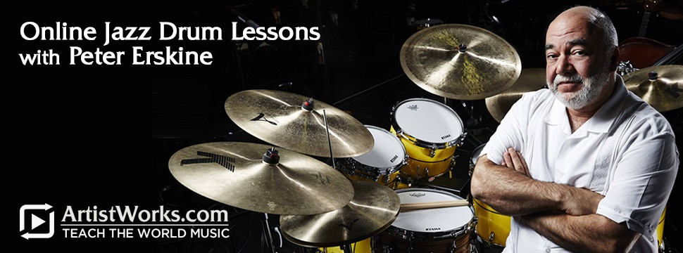 Online Jazz Drum Lessons Peter Erskine