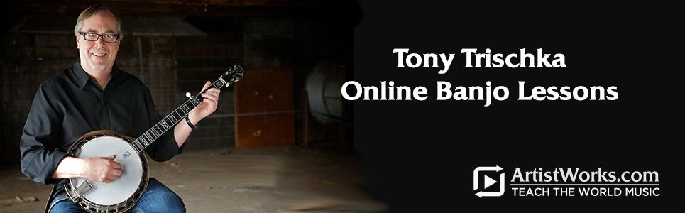 Online Banjo with Tony Trischka at ArtistWorks