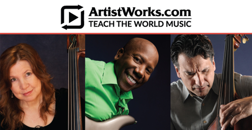 Win one-year of online bass lessons with the artist of your