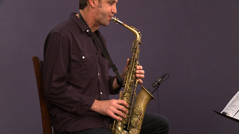 Check out jazz saxophone lessons with Eric Marienthal